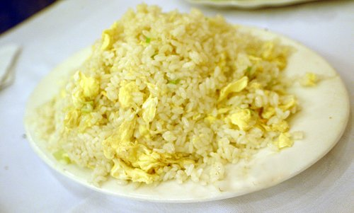 Chinese Fried Egg Rice 蛋炒飯